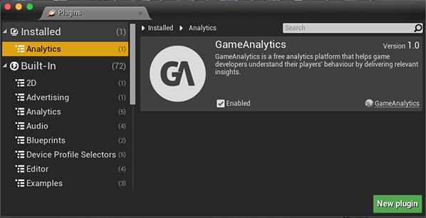 Unreal SDK Documentation - GameAnalytics