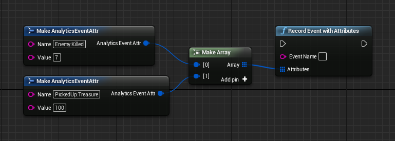 Unreal sdk documentation gameanalytics the analytics blueprint library actions that can be used to send design events are record event record event with attribute and record event with malvernweather Image collections